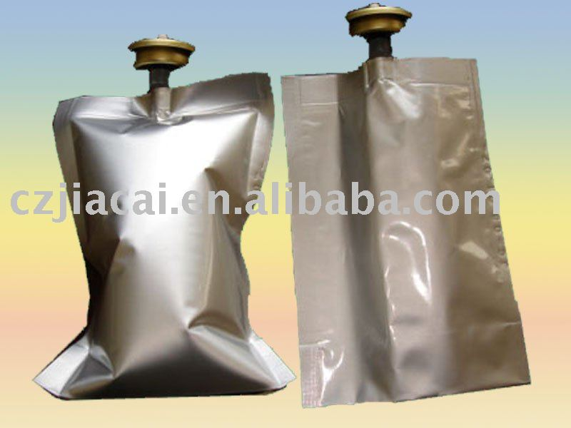 Bag on valve for aerosol package