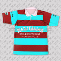 Long Sleeve Striped Rugby Shirt