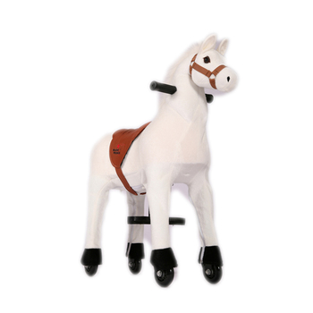 Mechanical horse ride on pony on cycle system for rental business, ride on mechanical horse for adults and kids