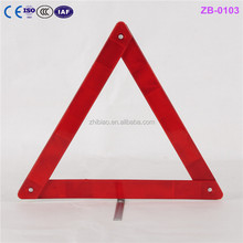 professional supplier for avoid accident cars warning triangle