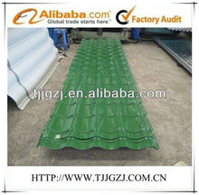 Galvanized color coated steel roofing/ppgi antique steel tile