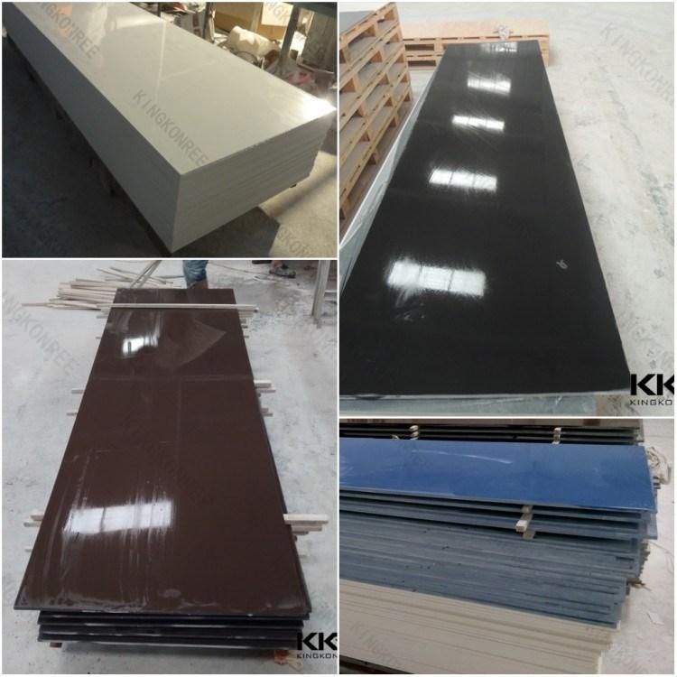 Superb Glacier White Acrylic Stone 12mm Sheet/ Table Top Acrylic Stone