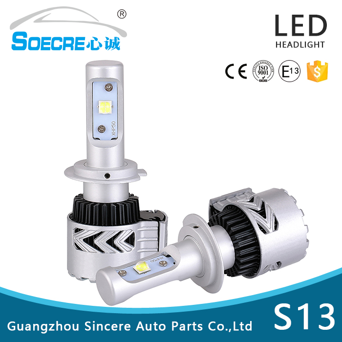 Top quality h4 led headlight PHILIPSS for audi A4 A6 A4L A6L