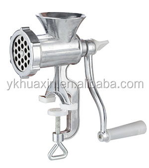 Promotional aluminum alloy industrial meat grinder with factory price