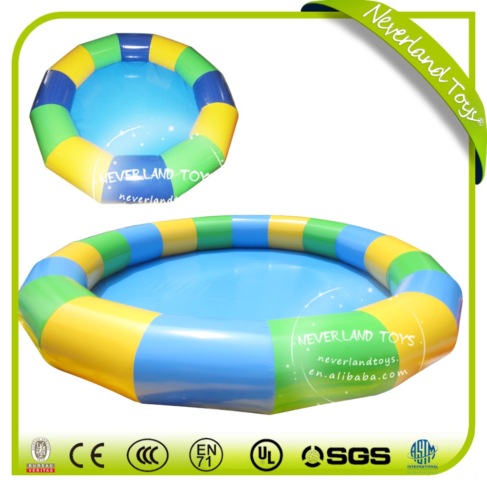 Neverland Toys customized inflatable swimming pool for kids