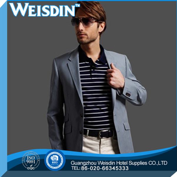 Skirt suits fashion design wool/polyester suit men dress sample