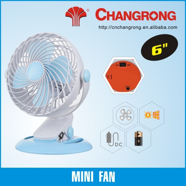 high powered mini fan solar fans dc plastic mini fan