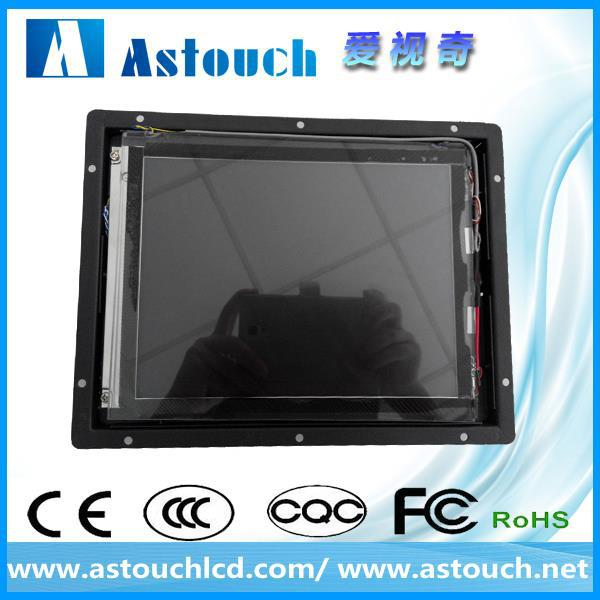 large stock 8 inch elo open frame touch lcd monitor with projected capacitive touch