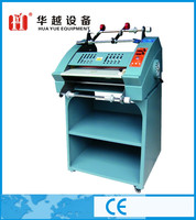 2015 latest Anticurl double side hot rubber roller laminating machine