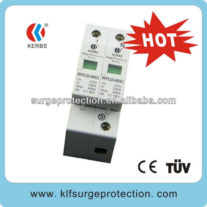 40KA single phase protector surge(No Signal) Protect Television Broadcasting with 230v surge protector