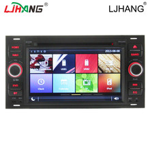 2017 factory wholesale models 2 din for old fo rd car dvd car radio with gps navigation