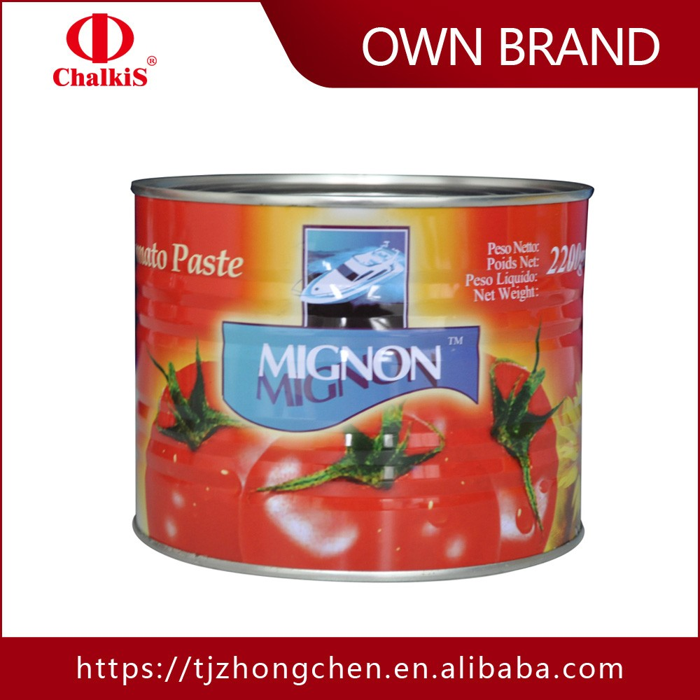 canned packaing tomato paste best tomato paste brands OEM/ODM tomatoes