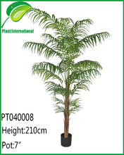 artificial plant deluxe areca palm tree outdoor garden decoration