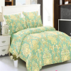 Bright color wholesale cotton fabric whole conforter sets bedding
