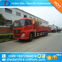 6x4 Construction Machinery cranes small truck crane with high quality
