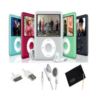 8GB Slim Mp4 Mp5 Player with LCD Screen, FM Radio & Movie Player