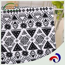 New design knitted 100 cotton jersey fabric price per yard for women clothes