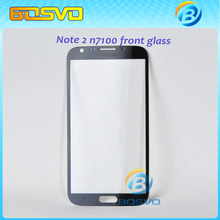 Replacement Repair Parts Accessories Front Glass screen panel LCD touch glass for Galaxy note 2 n7100