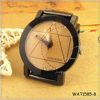 2013 Trendy Geometric Face Retro Lover Stainless Steel Watch Wholesale Hot Sale