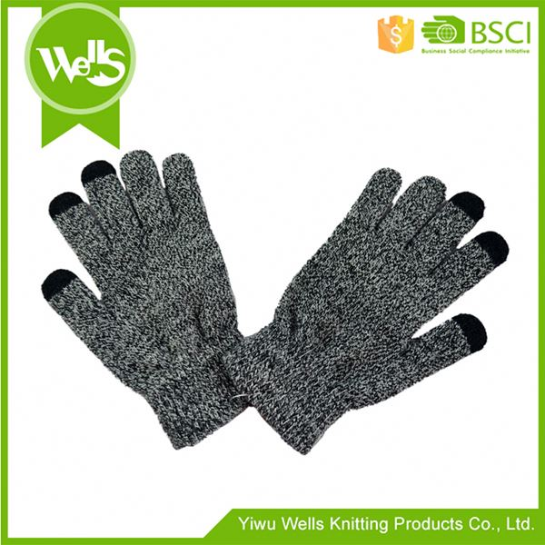 MAIN PRODUCT excellent quality acrylic snowflake gloves from manufacturer