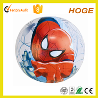 spiderman design inflatable animal beach ball