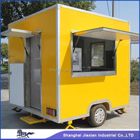 JX-FS250 New style Mobile burger Food Van Food cart