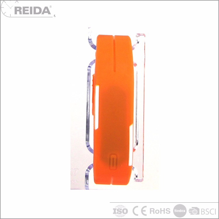 Reida new product digital sport orange led cartoon game wrist watch