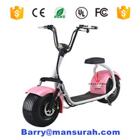 2016 hot sell electric motorcycle citycoco 1000W 60V electric scooter motorcycle