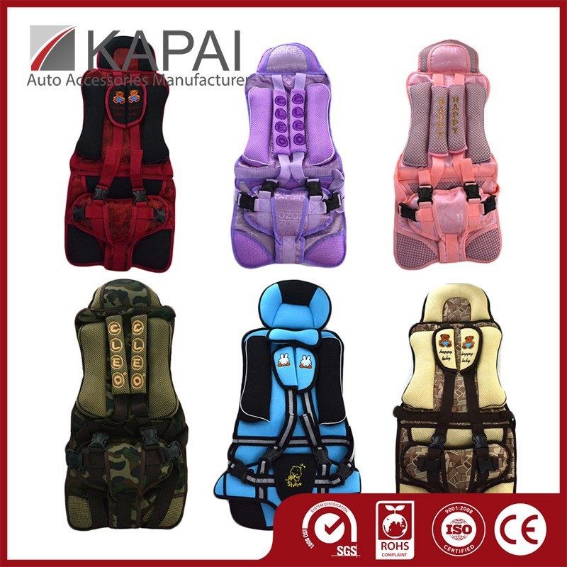 Oxford Cloth Material Cute Baby Girl Car Seat Covers