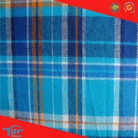 2015 Latest Dress Designs High Quality Check Fabric School Uniform