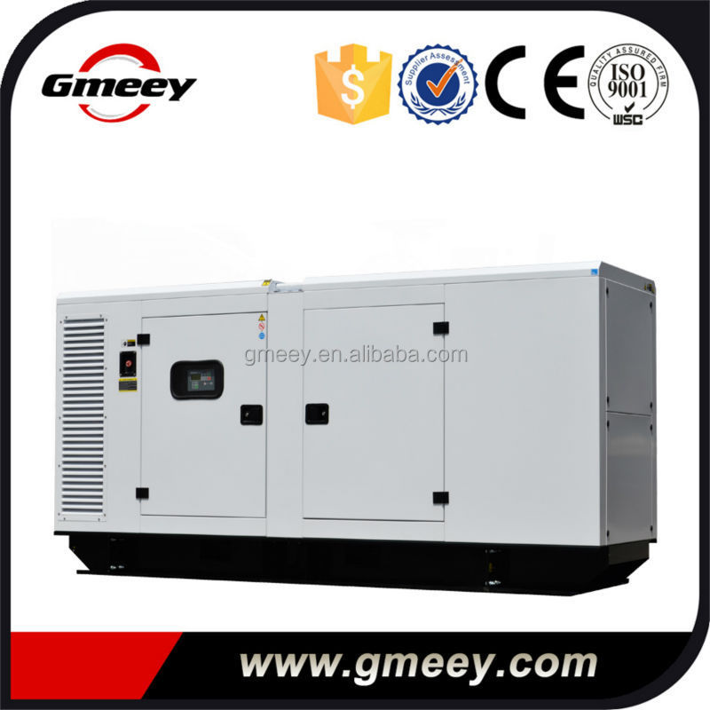 Gmeey trade assurance 300kw/375kva silent diesel generator powered by cummin