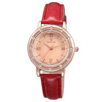 9338 Skone most popular products 2013 women leather watch