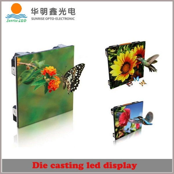 SHENZHEN SUNRISE Electronic new product indoor full color P2.5 LED panel, hot sell big tv p2.5 led display panel price