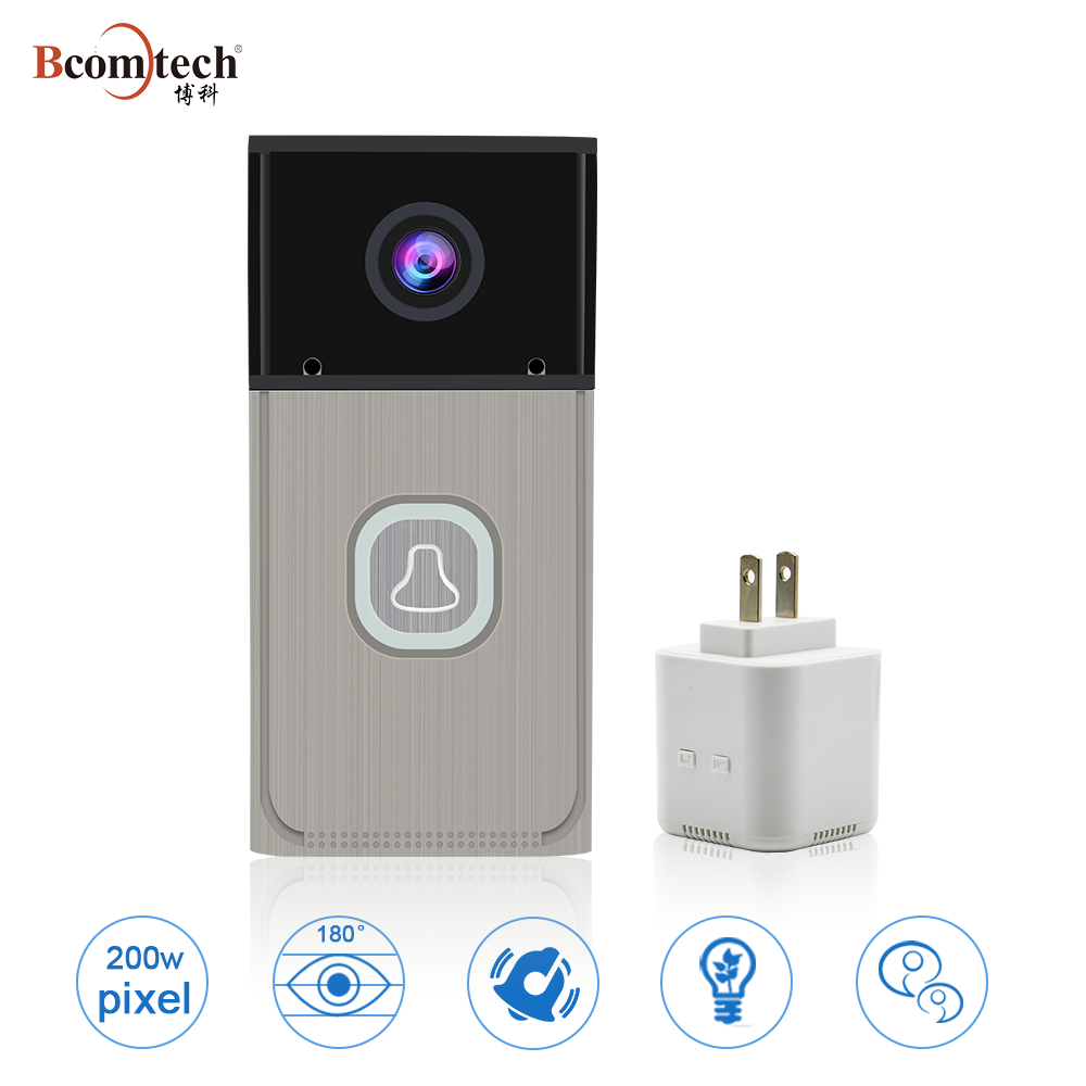 2017 Newest Wireless WIFI IP Video Intercom Door Bell Support Android&ISO system with night vision