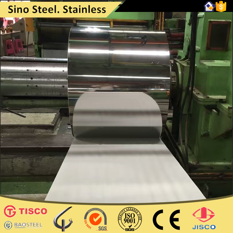 ISO certifications 2b surface stainless steel coils 201 304 430 410 409