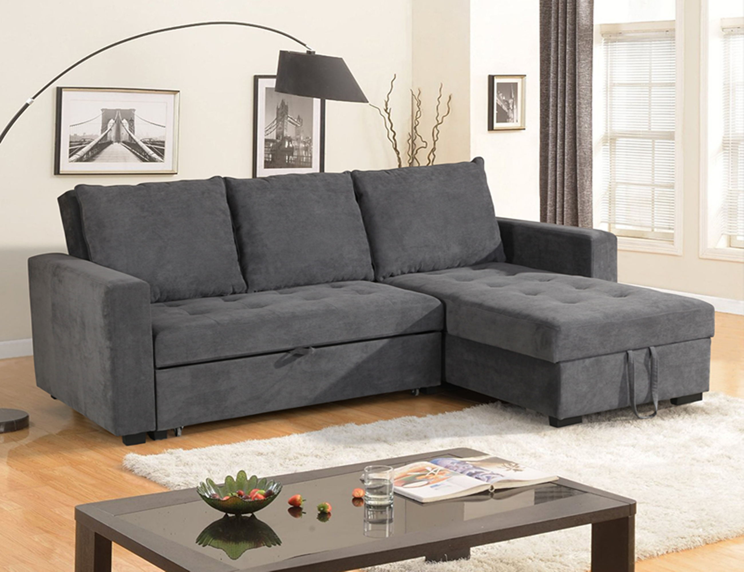 FRANK FURNITURE SOFA CUM FABRIC BED WHOLESALE LIVING ROOM SOFA BED