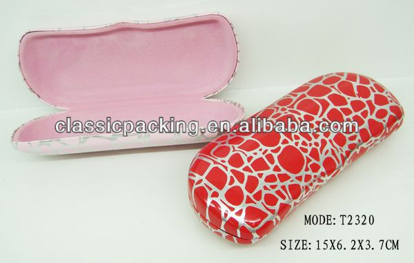 fashion hot wholesale designer eyeglass cases, eyeglass case hinge,sunglass and watch case