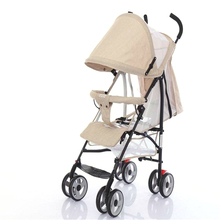 2017 new design fabric material baby buggy