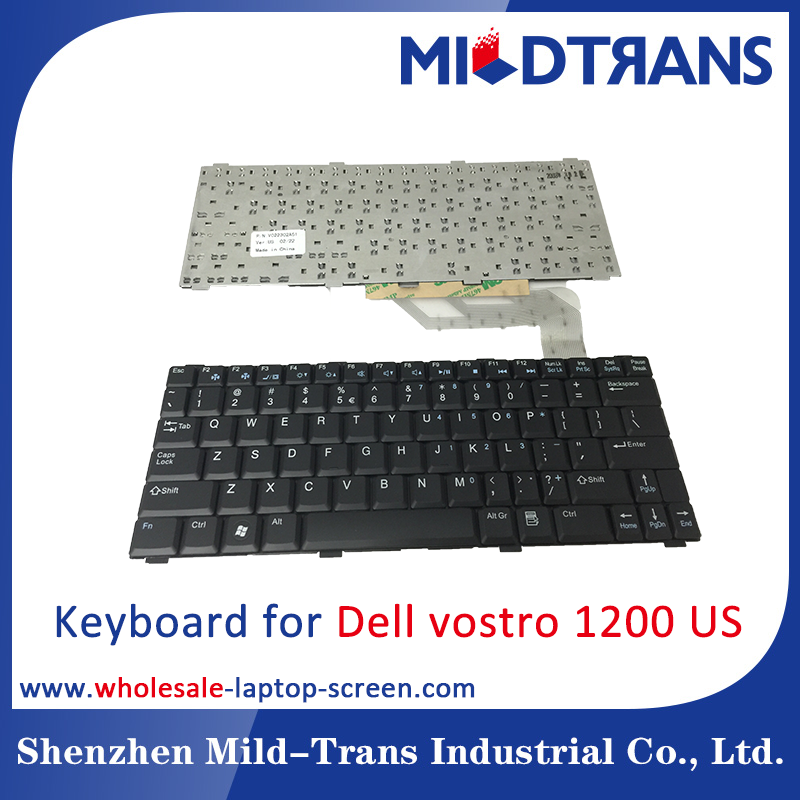 Hot sale notebook/ laptop keyboard For DELL vostro 1200 US layout
