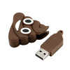 Funny Gift Usb defecate design PVC USB sitck bulk items