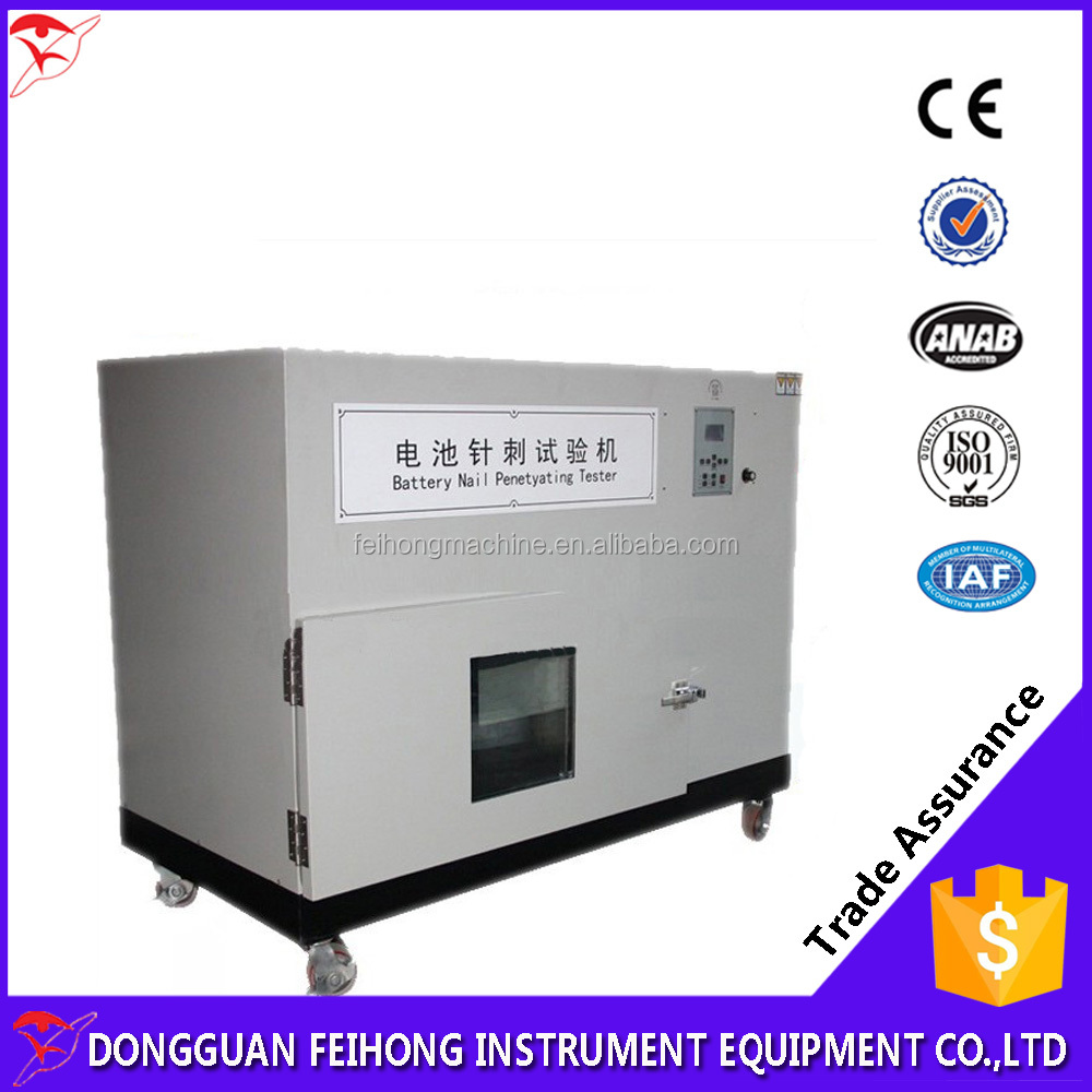 Factory Direct Sale Electric Automobile Power Battery Penetration Test Equipment