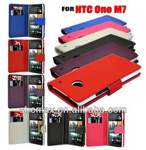 MOBILE PHONE FLIP CASE COVER FOR HTC ONE M7