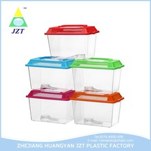 Clear Portable Crab cage/Turtle Box/Plastic Fish Tank Wholesale
