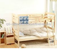 Natural Solid Wood Bunk Bed