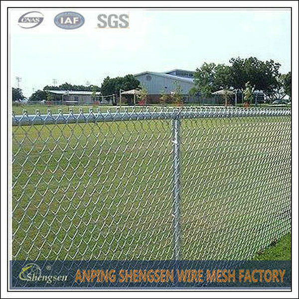China manufacturer wholesale PVC coated hot dipped galvanized chain link fence ( ISO9001)