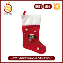 Wholesale Felt Christmas Hanging Stocking for Hot Selling