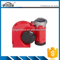 Black and Red Plastic Music air horn/portable air horn/novel design pressure horn