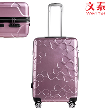 Super light aluminium trolley suitcase hard trolley bags luggage set