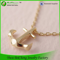 china jewelry wholesale sailor jewelry mens anchor necklace