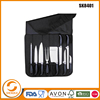stainless steel 9pcs kitchen knife lighter set in PP handle